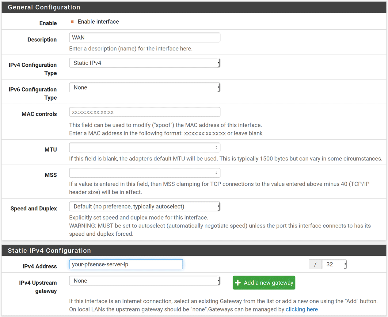 Setting up an OpenVPN server with pfSense and Viscosity