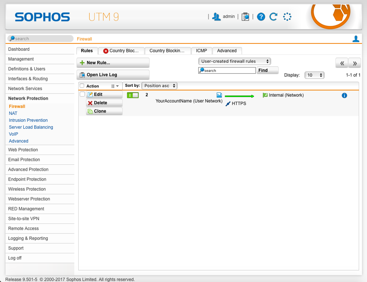 Setting up an OpenVPN server with Sophos UTM and Viscosity - SparkLabs