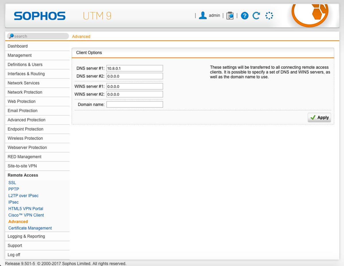 sophos ssl vpn client download for android